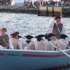 Longboat Crew with Mayor