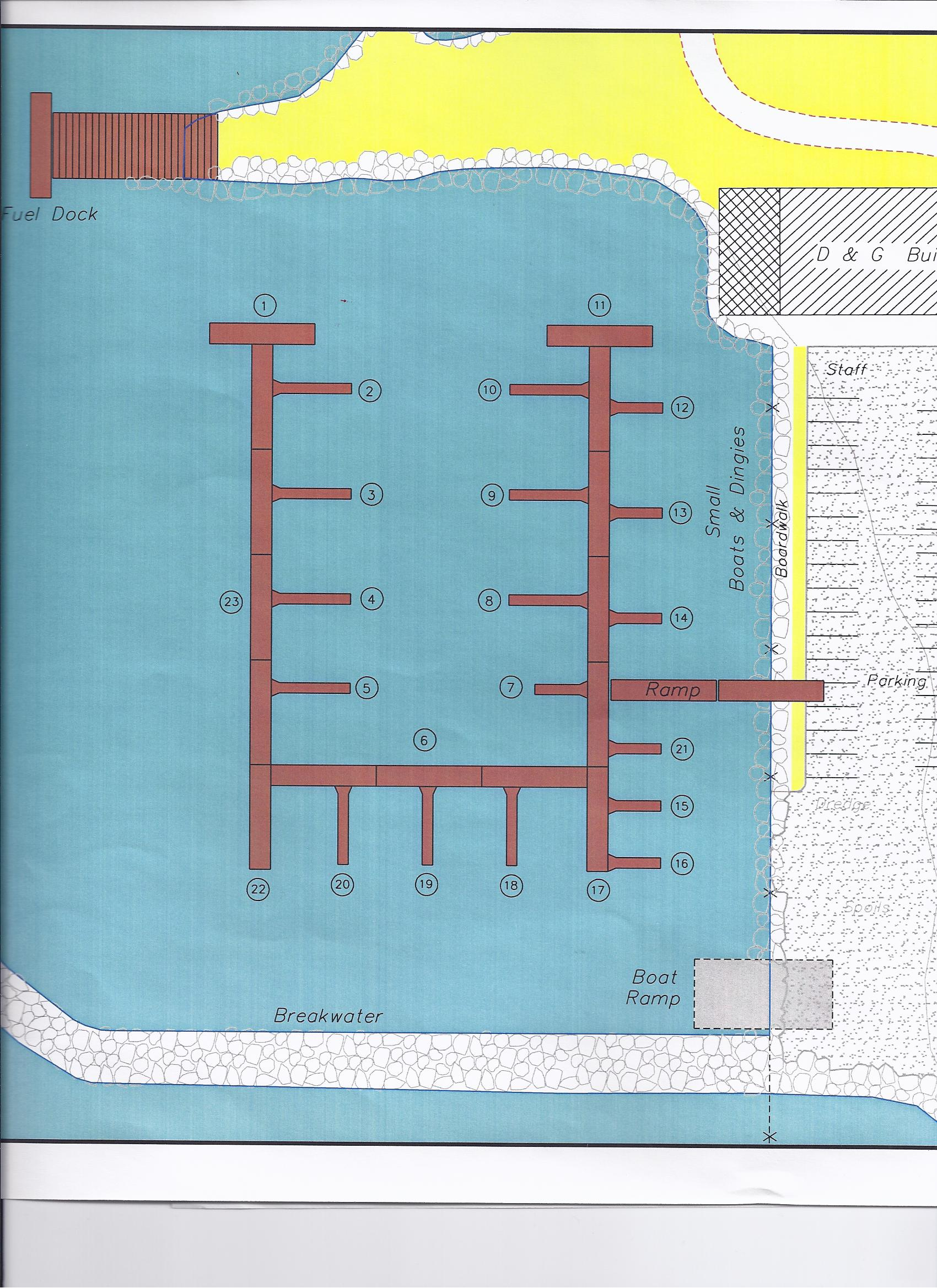 Dock Layout Picture